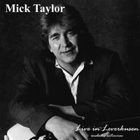 Mick Taylor Live in Leverkusen Cover