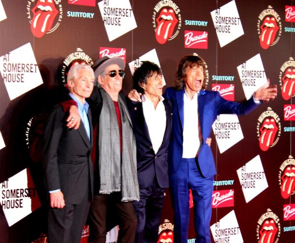 Rolling Stones 12. Juli 2012 Somerset House London