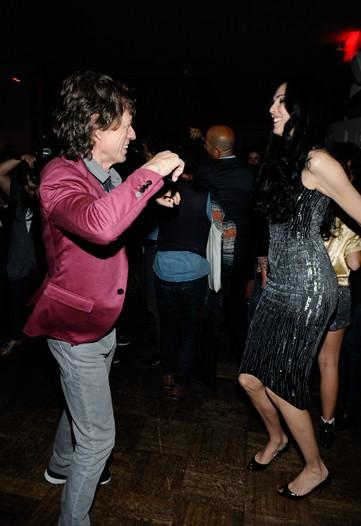 Mick und L'wren auf der Party zur  Präsentation der Frühjahrskollektion im September 2009